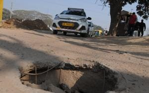 Gurgaon: Industrialists suffer due to poor condition of roads in...