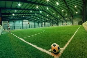 It's become a matter of prestige for large companies to boast of a sports club within their office complexes.