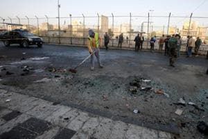26 killed in suicide attacks in central Baghdad