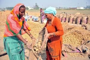 Doaba farmers, who supply potato across the country, are dumping their old produce on the roads in the absence of buyers.