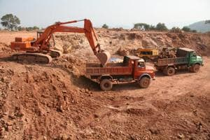 Maharashtra reported most cases of illegal mining in the country...
