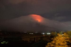 'Quiet eruption':Thousands flee as lava oozes from Philippine volcano