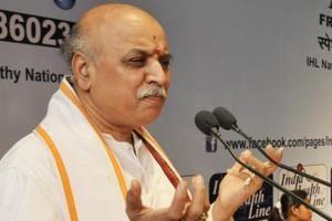 File photo of Vishwa Hindu Parishad international working president Pravin Togadia.