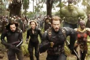 Infinity War battle scene to have 40 superheroes in it: Captain...