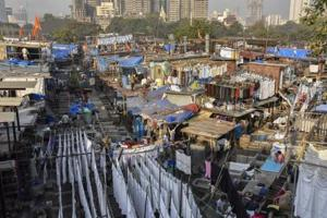 Dhobi Ghat, which is more than a century old, is one of the largest open laundries in the world.