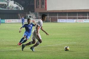 NEROCA FC beat Indian Arrows 2-0 in I-League clash