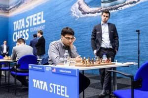 Viswanathan Anand crushes Fabiano Caruana, shares lead in Tata Steel...