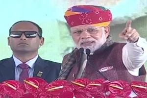 Congress and drought are twin brothers, go hand in hand: PM Modi in...