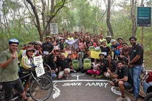 Campaign to save Aarey from Metro car shed construction gets 2 lakh...