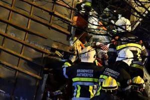 Five injured in gas explosion in Belgium's Antwerp