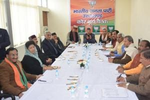 BJP MLAs in Uttarakhand 'feeling pressure' to collect donation for...