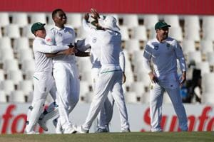 Lungi Ngidi struck twice to put South Africa on top of the Centurion Test against India.