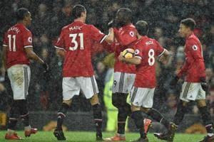 Manchester United beat Stoke City 3-0, reduces Manchester City's lead...