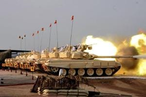 Annual Drill: Army's firepower and manoeuvre display at...