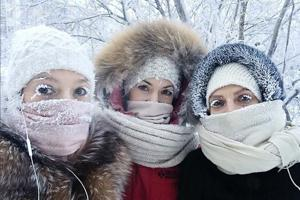 Russia's Yakutia sees near-record cold spell, temperature dips to...