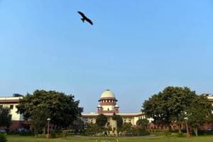 A view of the Supreme Court in New Delhi. India's top court has been rocked in the wake of four senior judges holding an unprecedented press conference against Chief Justice Dipak Misra.
