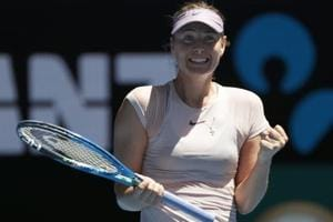 Maria Sharapova enjoys winning return to Australian Open, Milos Raonic...