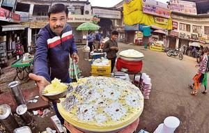 The spot is famous for malai makkhan, a cream desert available only in winter.