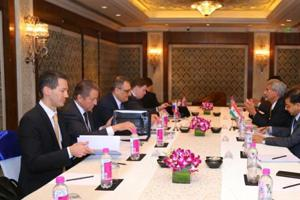 India, Russia hold talks on cooperation in strategic areas