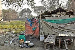 Labourers who have encroached upon the parks complain that due to meagre pay, they cannot afford accommodation outside the industrial area, which is why they have made the parks their home.