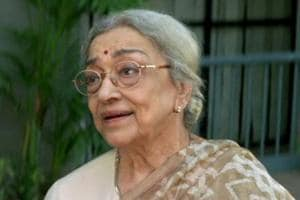 Veteran actor Ava Mukherjee, who played Shah Rukh Khan's grandmother...