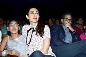 Samaira and Kiaan, Karisma Kapoor's kids spend time with father Sanjay...