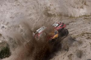 Dakar Rally: Stephane Peterhansel wins 10th stage, bike leader Adrien...