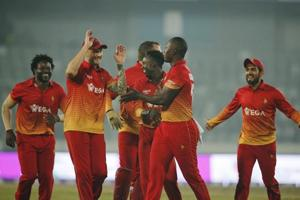 Zimbabwe prolong Sri Lanka's ODI woes with narrow win in Mirpur