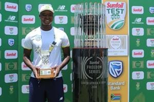 Lungi Ngidi was adjudged the Man-of-the-Match for his match haul of 7/90 in SouthAfrica's 135-run win over Virat Kohli's India at Centurion.