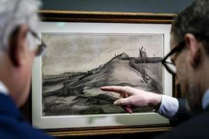 Rare, forgotten drawings by Van Gogh are on display in Netherlands....