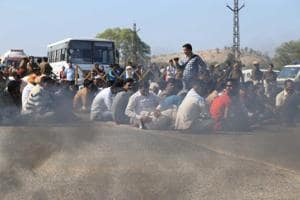 'Padmaavat' protests: Highway blocked in Rajasthan