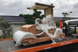 Yabba Dabba Doo! Malaysian sultan gets his own Flintstones car