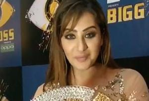 Bigg Boss 11 winner Shilpa Shinde can't stop celebrating her victory....