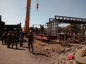 Ambivli FOB: Army speeds up work, mega block on Mumbai's central line...