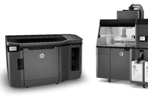 HP's 3D printer will be available through the company's specialised partners