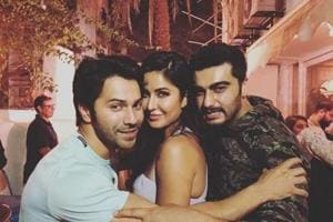 Katrina Kaif, Varun Dhawan and Arjun Kapoor chill together: What...