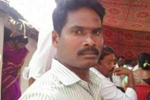 Head constable A Suresh was killed in the shelling.