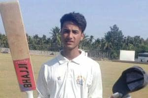 Abhishek Sharma is part of the Indian cricket team at the ICCcricket U-19 World Cup.