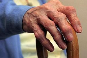 Slower walking speed in the elderly may be because of loss of muscle...