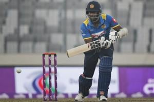 Sri Lanka sweat over Angelo Mathews' fitness ahead of Bangladesh ODI