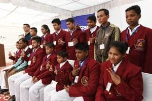 National Bravery Awards 2017 winners at a press preview in New Delhi on Thursday.