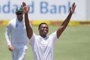 Lungi Ngidi made a brilliant debut for South Africa against India in the ongoing Test series.