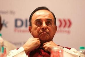 BJP leader Subramanian Swamy.