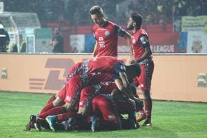 Jamshedpur FC registered their first ever win at home when they...
