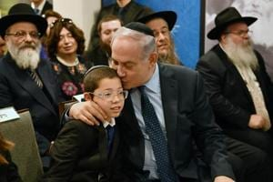 Photos: Moshe Holtzberg, orphaned in 26/11 Mumbai attacks meets...