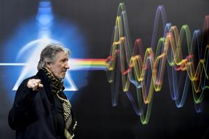 Photos: Pink Floyd exhibits in Rome bring rock music history...