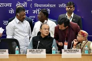 Arun Jaitley holds pre-Budget meeting with state finance ministers