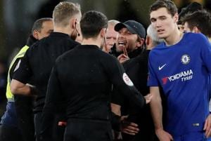 Chelsea manager Antonio Conte calls for VAR improvements after FA Cup...