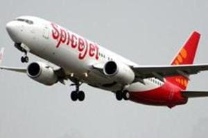 A Pune-Delhi SpiceJet flight made an emergency landing at Jaipur airport on Thursday evening after a passenger suffered cardiac arrest mid-air.