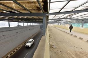 Inauguration of underpasses at Rajiv Chowk, Signature Tower...